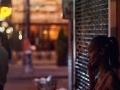 Lower East Side cellphone conversation