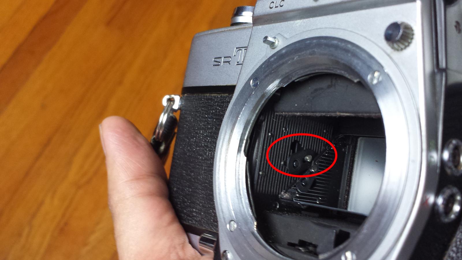 """Minolta SR-T 101 """"repairs"""""""